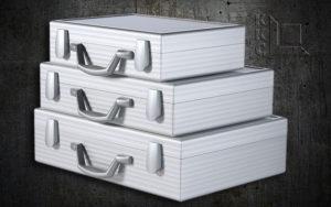 Aluminium presentatiekoffers
