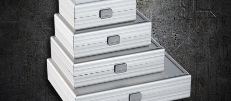 Aluminium mappen