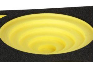 Foam inlays