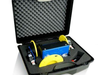 Koffer en schuiminterieur