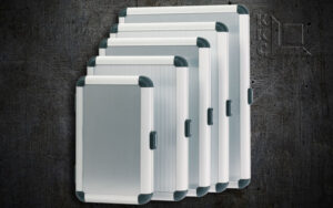 Libero aluminium mappen